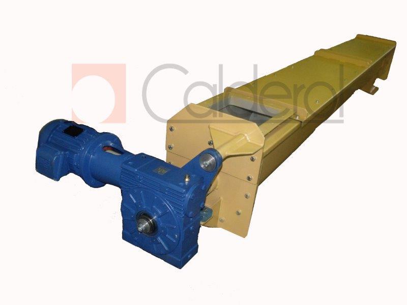 Transportador tipo rosca helicoidal